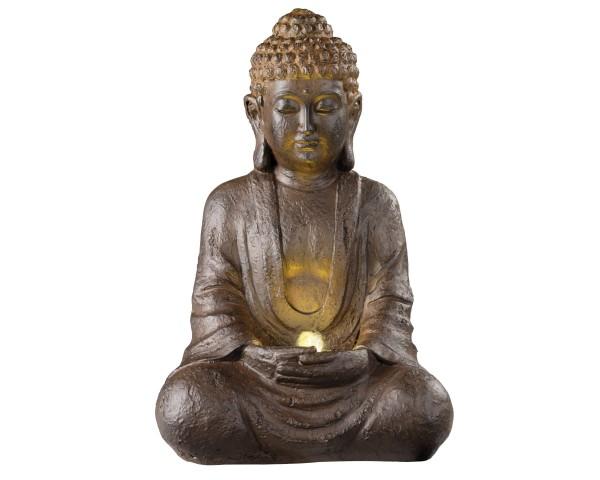 LED Brunnen sitzender Buddha