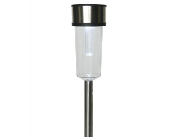 LED Solar Stahlstab