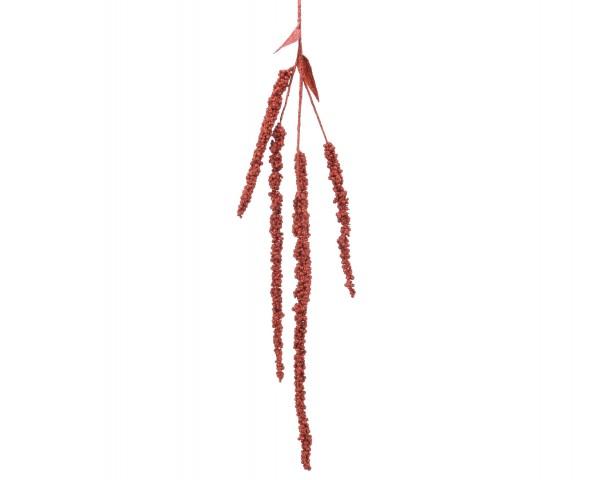 Amaranthusbüschel mit Glitzer