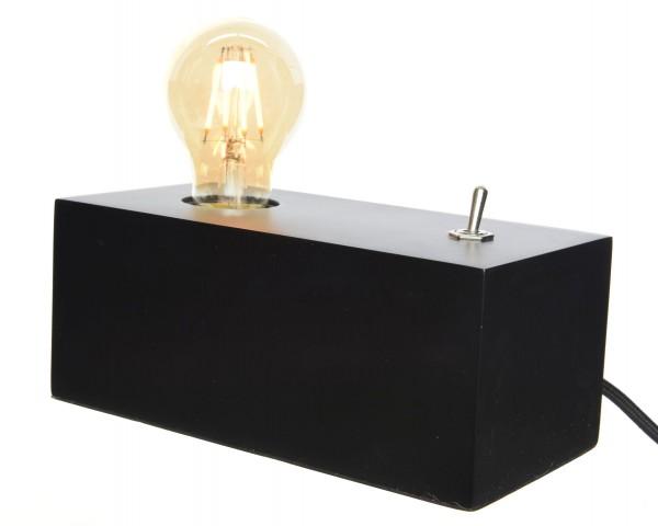 MDF Tischlampe Schalter