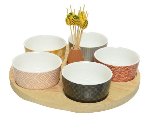 Tapas Set aus Keramik