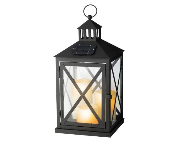 Solar LED Laterne für aussen