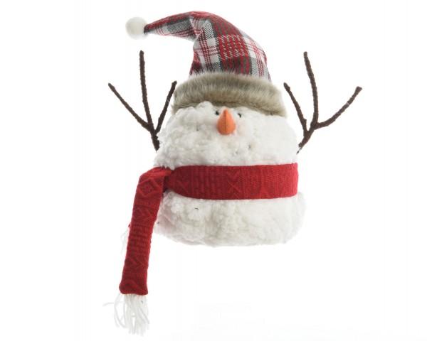 Schneemann mit Schal groß