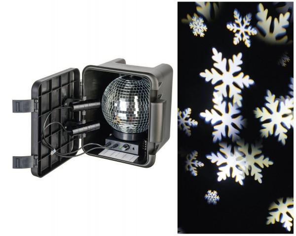 Outdoor LED Projektor Punkte KaltWeiß