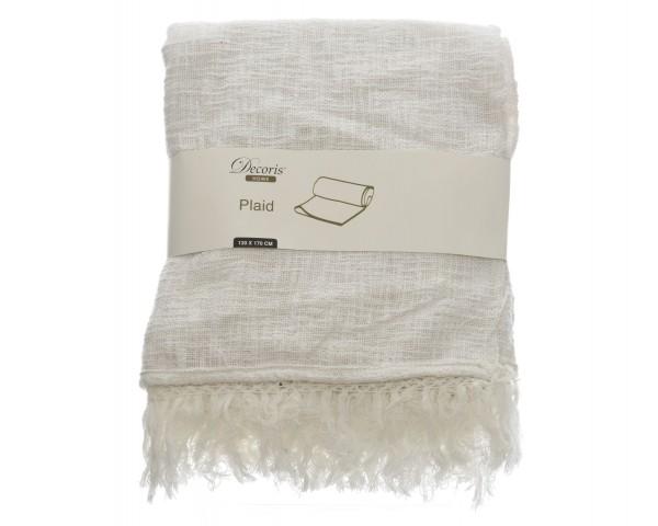 Decke Fransen Baumwolle