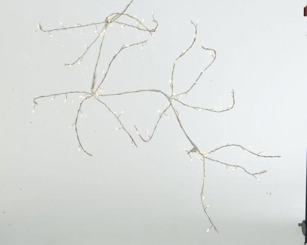 Outdoor Zweig Mikro LEDs Weiß/warmes Weiß 90cm-80L