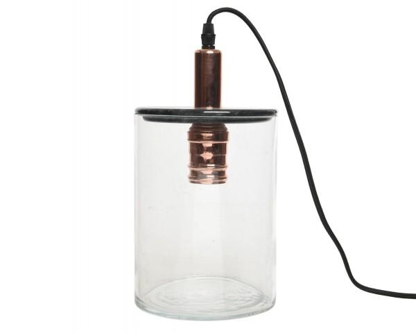 Tischlampe Glas klein