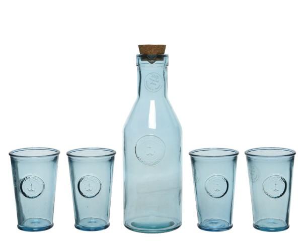 Getraenke-Set Recycle-Glas
