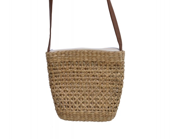 Tasche aus Wasserhyazinthe