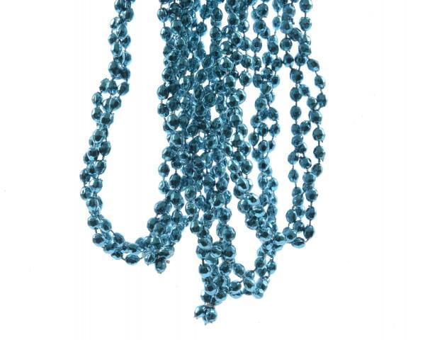 Deko Diamantenkette Mini Strahlend Blau