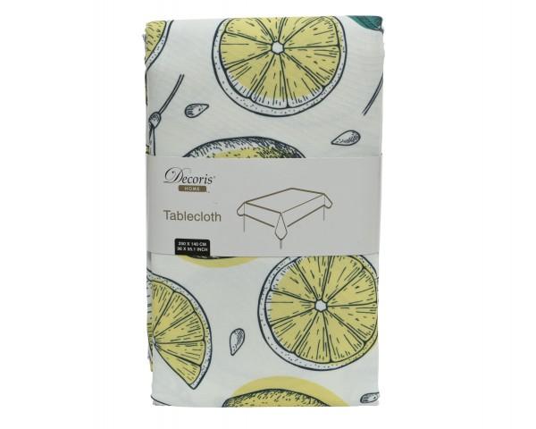 Tischdecke Lemon aussen