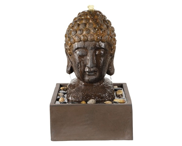 LED Brunnen Buddhakopf